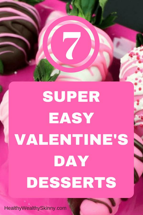 Super Easy Valentine's Day Desserts