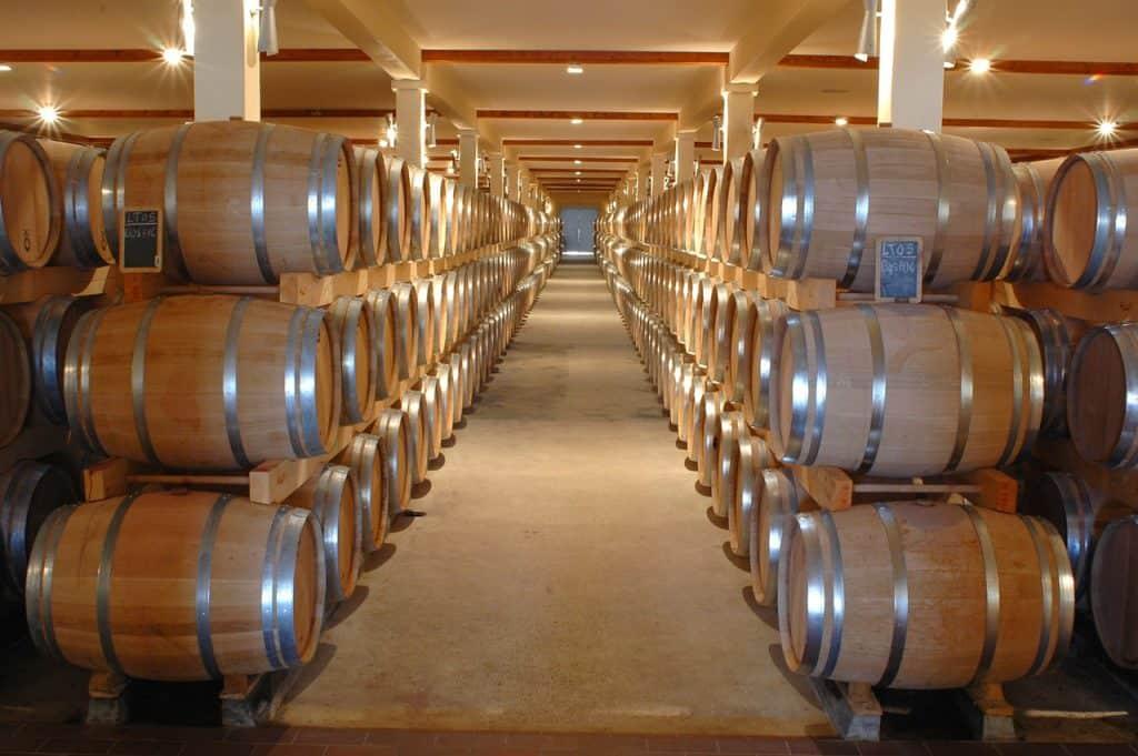 barrel aged wine