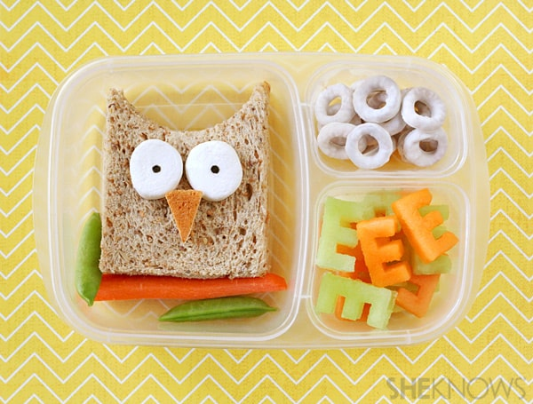 Creative Packed School Lunch by She Knows