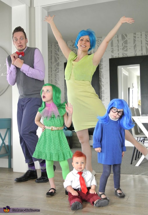 Family Halloween Costume Ideas  - Inside Out