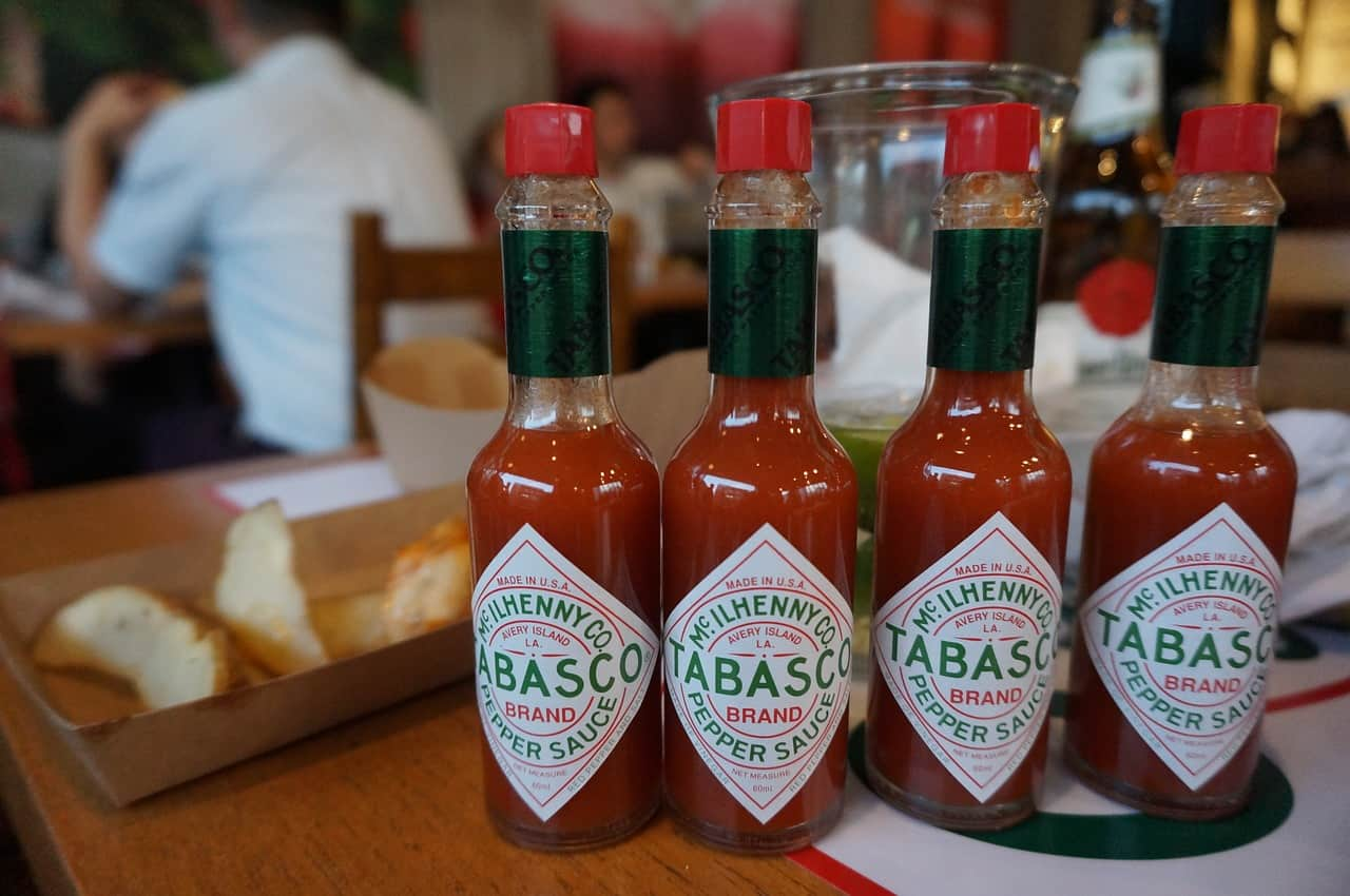 Foods that start with t - Tabasco