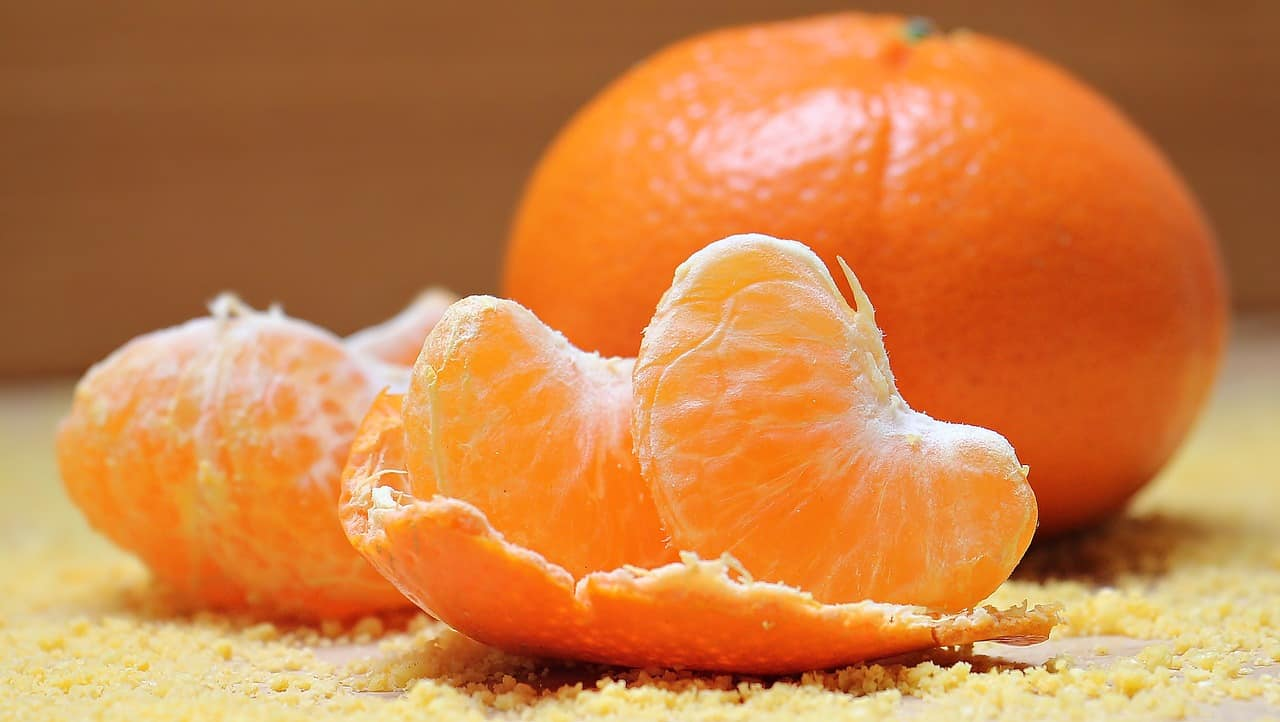 Foods that start with t - Tangerine